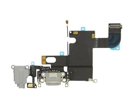 Apple iPhone 6 Charging/Audio Jack Flex Cable Grå