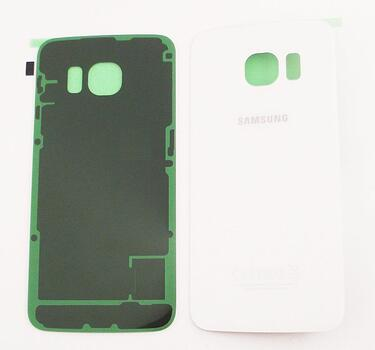 Samsung Galaxy S6 Edge Back Cover white