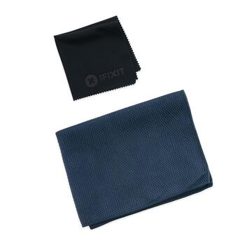 Microfiber Cleaning Cloths iFixit 2 pc