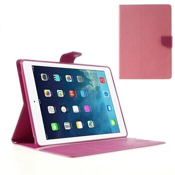 Mercury Goospery Fancy Diary Case for iPad Air - Pink