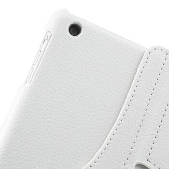360 Degree Rotating Leather Case for iPad Air/Air 2/2017/2018 - White
