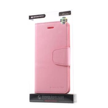 MERCURY GOOSPERY Sonata Diary Case for iPhone 7/8 Pink