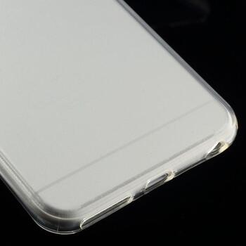 Glossy Surface TPU Gel Case for iPhone 6 Plus/6S Plus - Transparent
