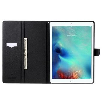 MERCURY GOOSPERY Wallet Leather Case for iPad Pro 9.7 inch - Black