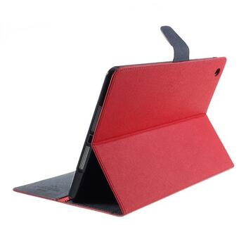Mercury Goospery Fancy Diary Case for iPad Air - Red/Dark Blue