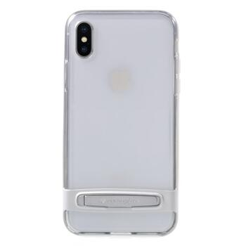 MERCURY GOOSPERY PC TPU Hybrid Kickstand Cover for iPhone X - Silver