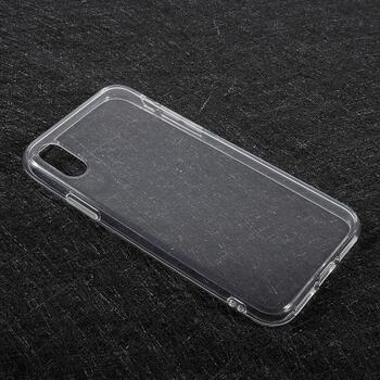 TPU Soft Back Cover for iPhone X Transparent