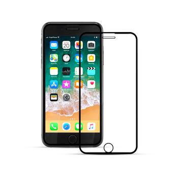 Nordic Shield iPhone 7/8 Plus 3D Curved Screen Protector Black (Bulk)