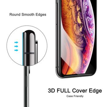 Nordic Shield Apple iPhone XS MAX/11 Pro Max 3D Curved Screen Protector Black (Blister)