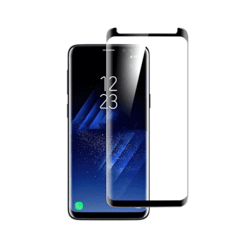 Nordic Shield Samsung Galaxy S8 Screen Protector 3D Curved (Blister)