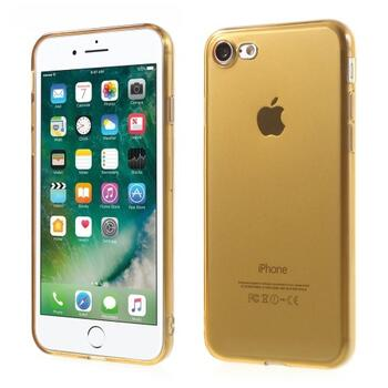 TPU Protective Case for iPhone 7/8 Transparant Gold