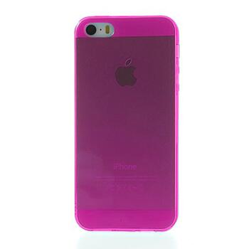 Transparent TPU Back Case for iPhone SE / 5s / 5 Clear Rose