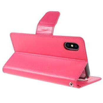 MERCURY GOOSPERY Sonata Diary Case for iPhone X / XS Rose