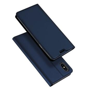 DUX DUCIS Skin Pro Flip Case for iPhone XS Max Dark Blue