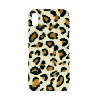 Leopard Hair Hard Case for iPhone XS MAX Light