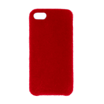 Horse Hair Hard Case for iPhone 7/8 Red
