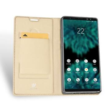 DUX DUCIS Skin Pro Flip Case for Samsung Note 9 Gold