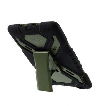PEPKOO Spider Series for iPad 9.7-inch (2017/2018) Army Green/Black