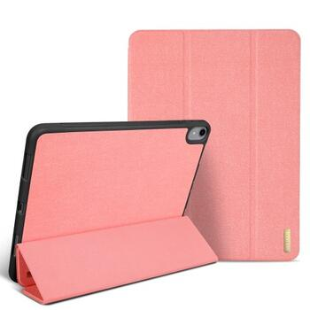 DUX DUCIS Domo Series Tri-fold Case for iPad Pro 12.9 2018 with Pen Slot Pink