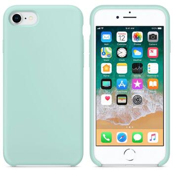 Hard Silicone Case for iPhone 7/8 Aqua Green