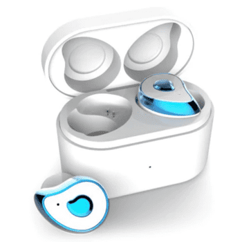 True Wireless Bluetooth Headset for Android/iOS in Blue/White