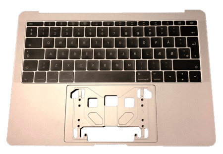 MacBook Pro 13'' A1708 Keyboard w/frame Nordic Layout Gray