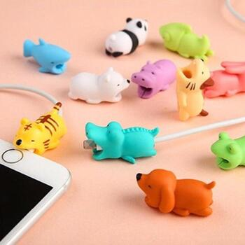 CABLE BITES Cable Protector Animals - Assorted per. 1 pcs.