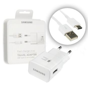 Samsung Adapter with USB-C to A Data Cable in White