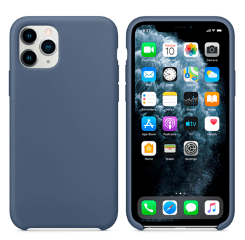 Hard Silicone Case for iPhone 11 Pro Max Alaska Blue