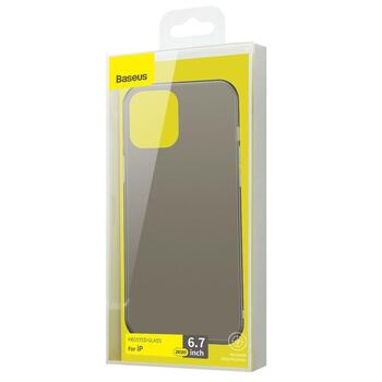 Baseus Wing TPU Case for iPhone  12 Pro Max Frosted Black