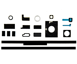 iPhone 4S Sponge and rubber sticker set- 16 parts