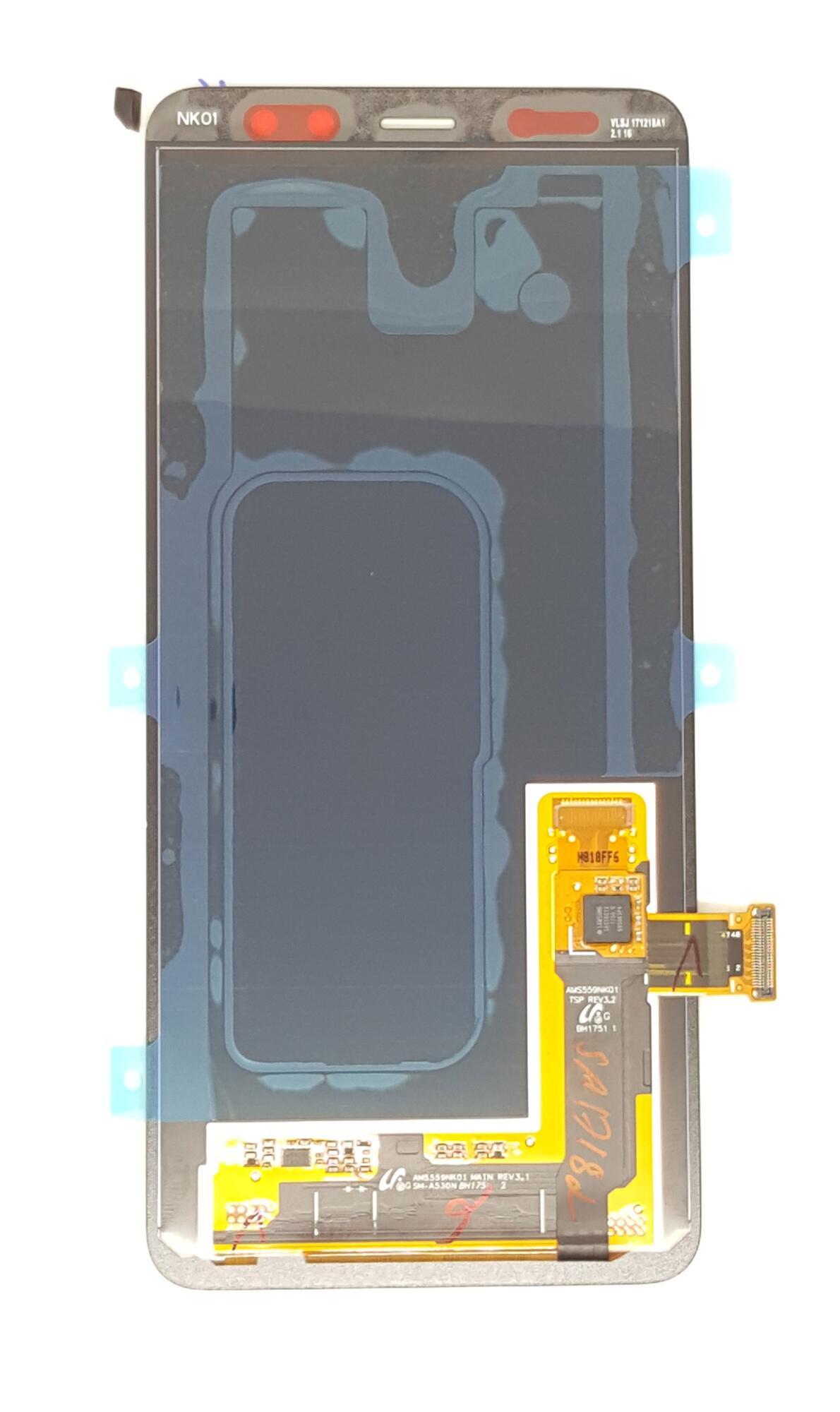 Samsung Galaxy A8 2018 Display Unit Black