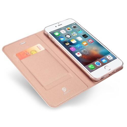 low priced 85f3b 170a5 DUX DUCIS Skin Pro Flip Case for iPhone 6 Plus/6S Plus Rose Gold